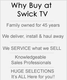 Why Buy at Swick TV