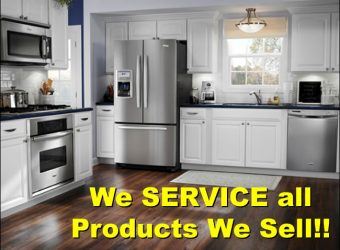 We Service All Products We Sell